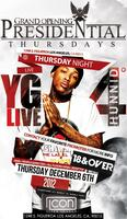 YG 400 LIVE @ ICON THURSDAYS 18+