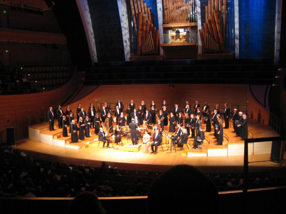 William Baker Festival Singers in Helzberg Hall