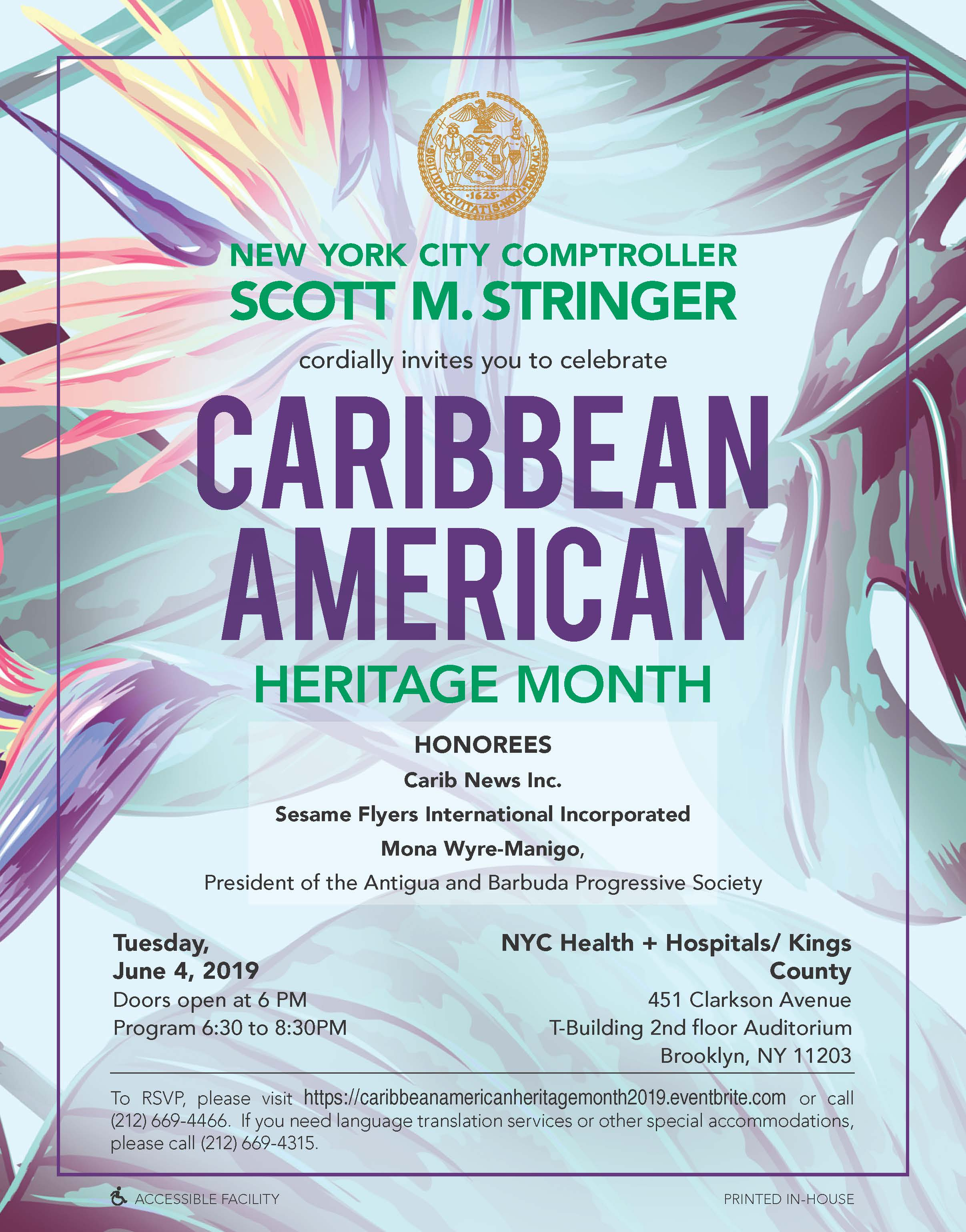 Caribbean American Heritage Event