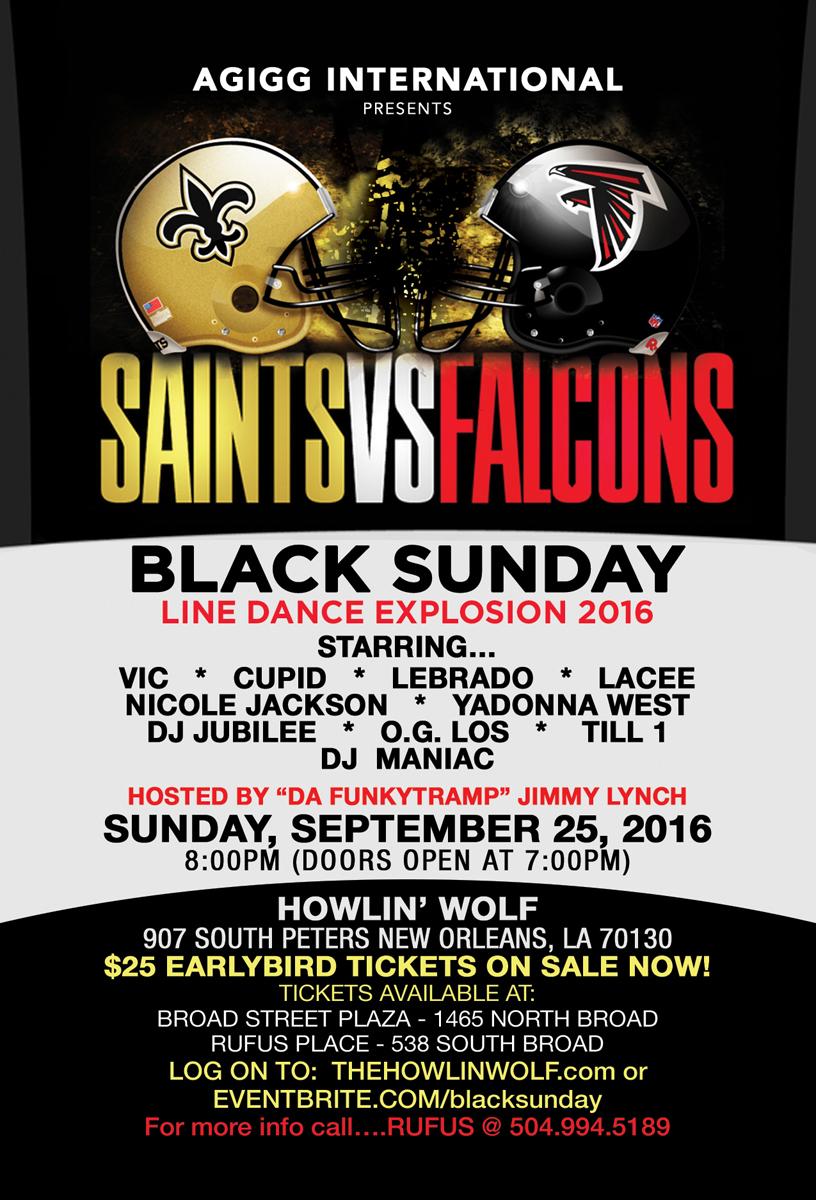 AGIGG International presents Saints vs. Falcons