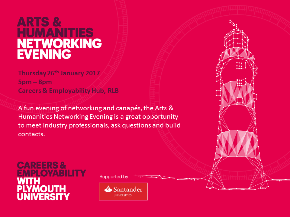Arts Networking poster