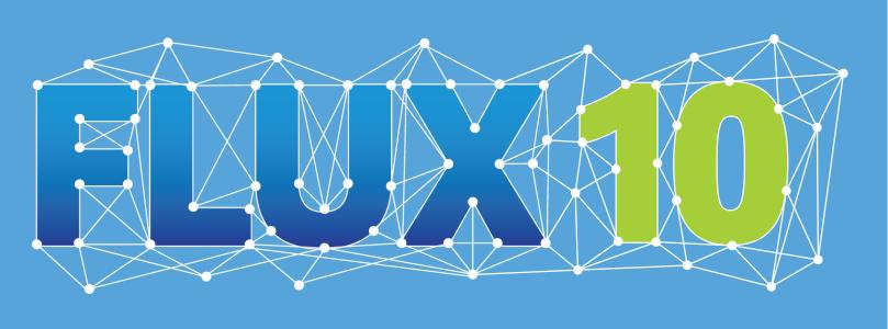 FLUX 10 logo