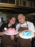Couples Cake Decorating