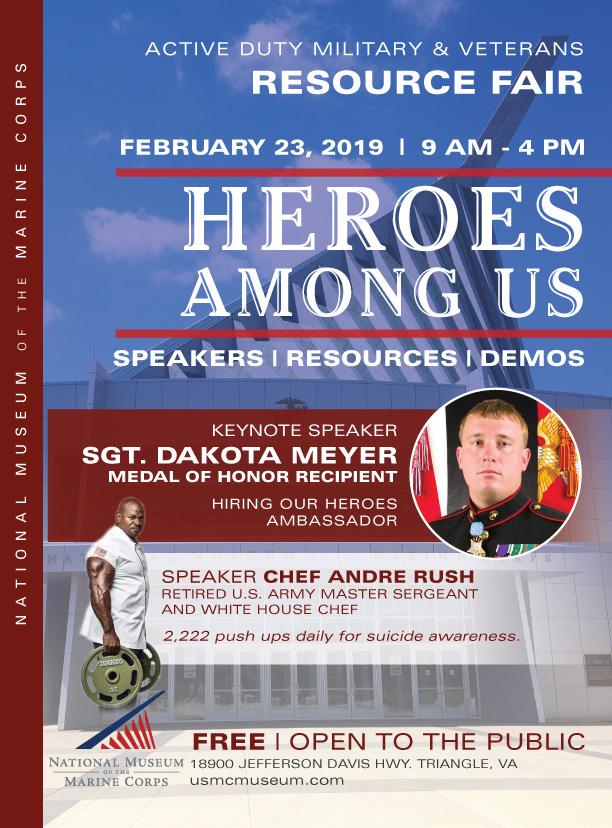 Heroes Among Us Flyer