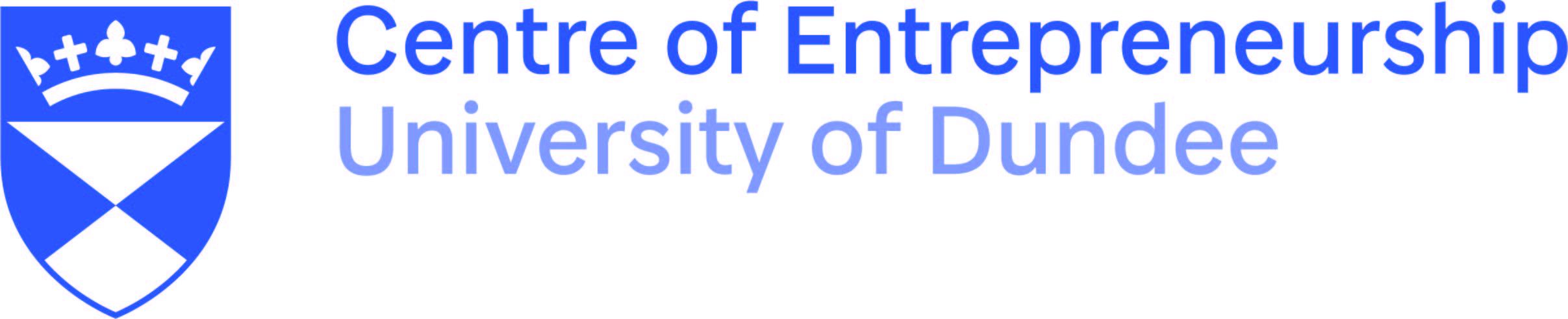 University of Dundee, Centre of Entrepreneurship Logo