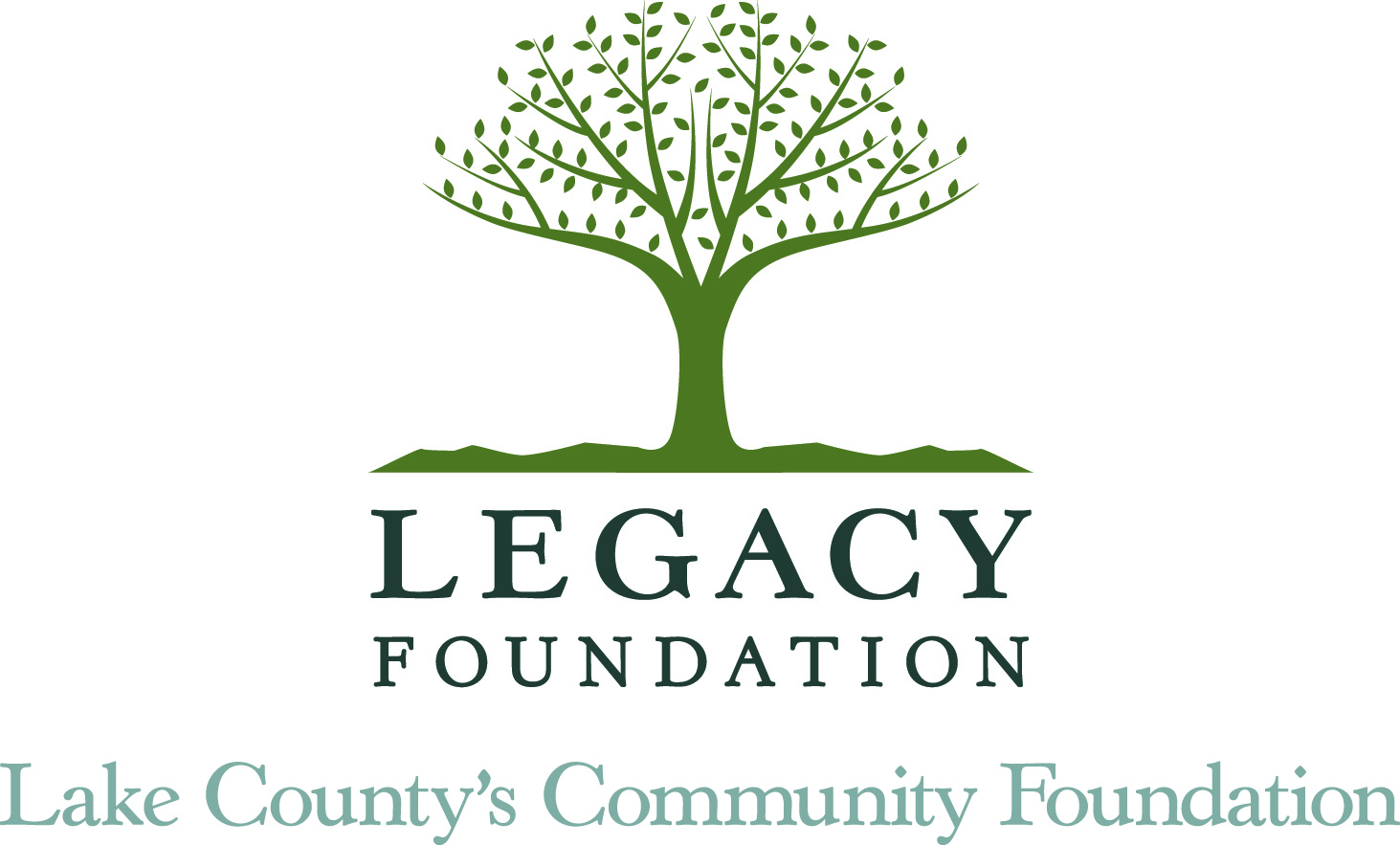 Legacy Foundation tree with tagline underneath