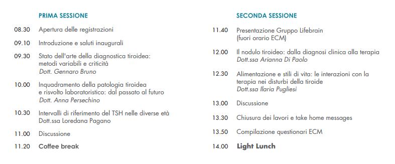 programma roma 30 novembre