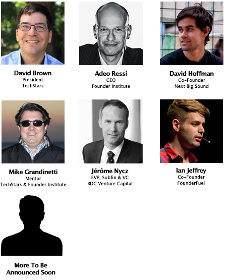 Accelerator Rally Speakers 2014