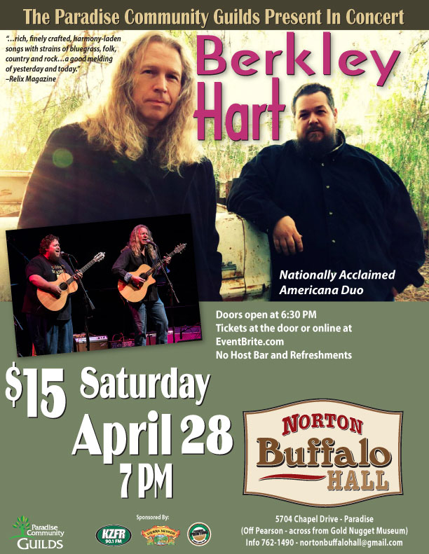 Berkley Hart at Norton Buffalo Hall