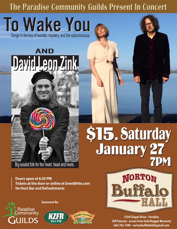 To Wake You with David Leon Zink