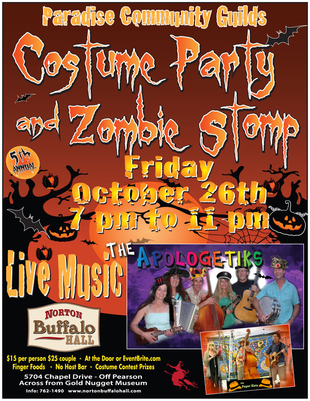 5th Annual Halloween Costume Party and Zombie Stomp