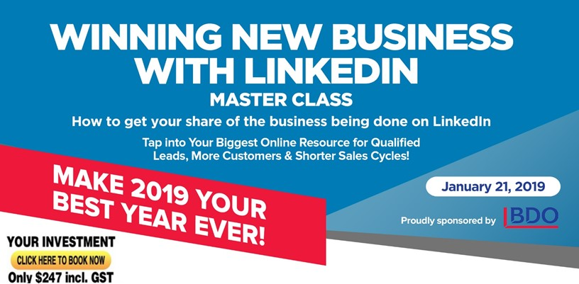linkedin training perth linda le