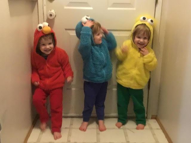 Puzzlemaster Adam Perl's triplet grandchildren