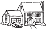 True Insurance Logo - image of a house