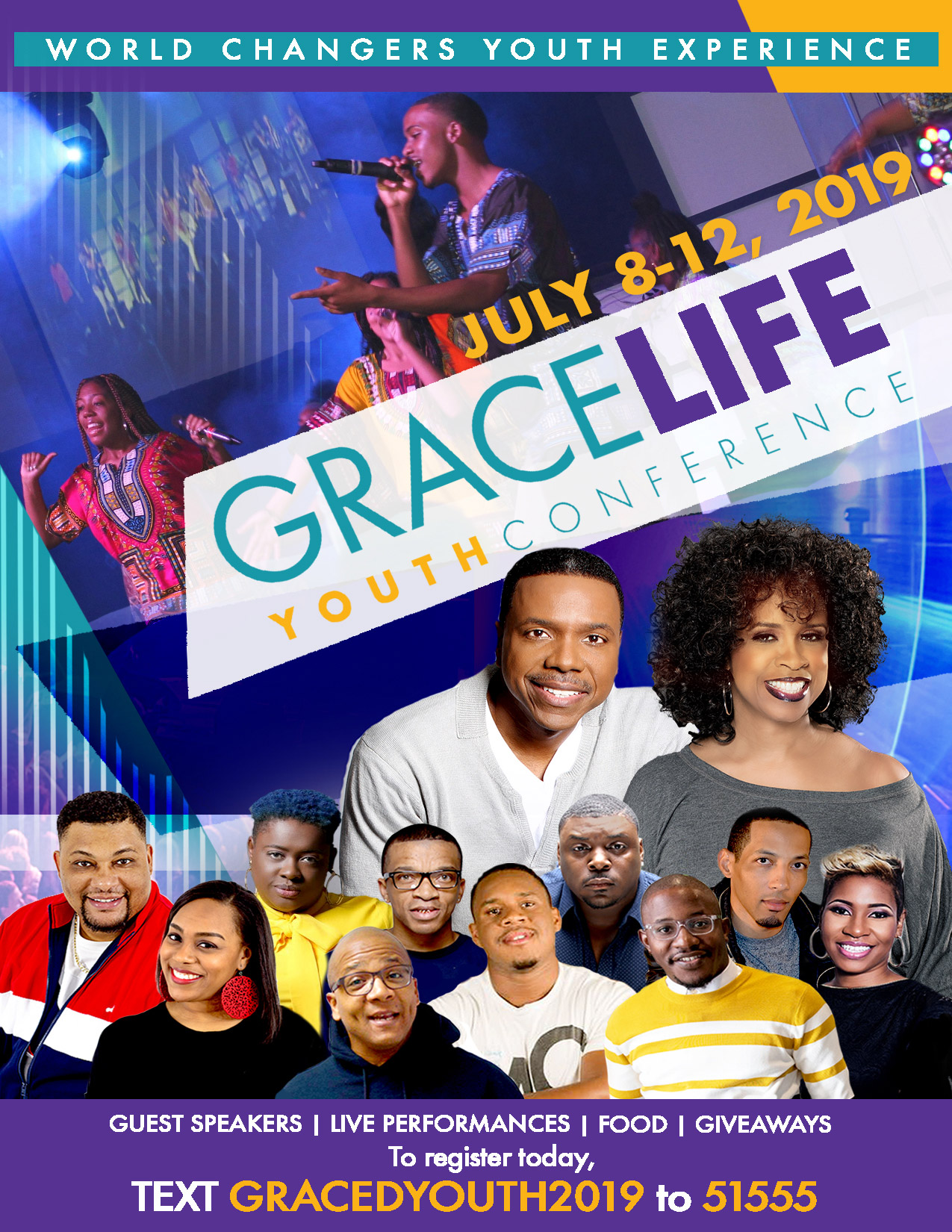 GraceLife Youth Conference 2019 (Speakers)