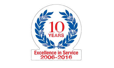 10 Years Excellence