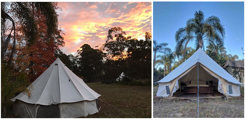 glamping images