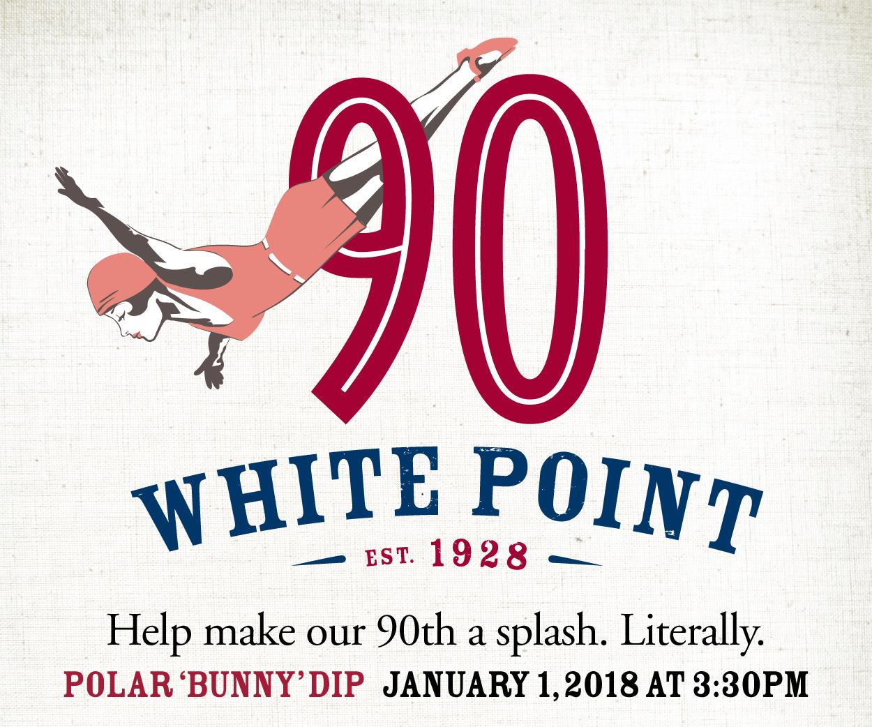 Polar Bunny Dip Jan 1 2018 at White Point Beach Resort