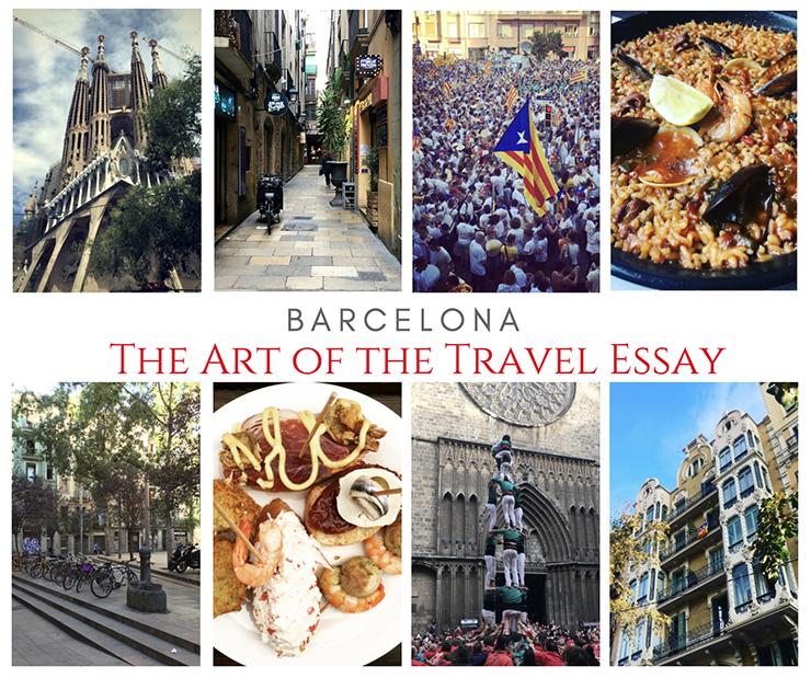 Travel Writing Workshop Barcelona Spain