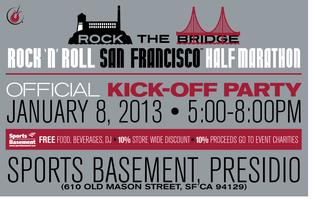 Rock 'n' Roll San Francisco Official Kick Off Party hosted...