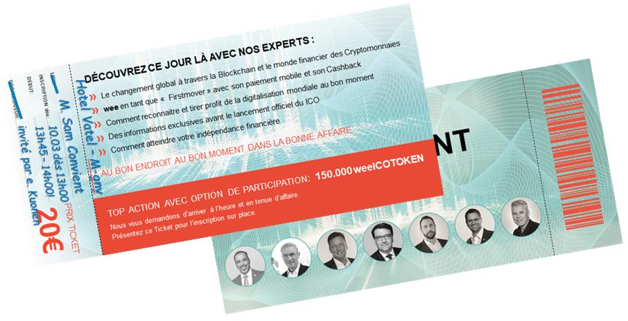 ticket White-Event - Hotel Vatel Martigny - 10.03.19