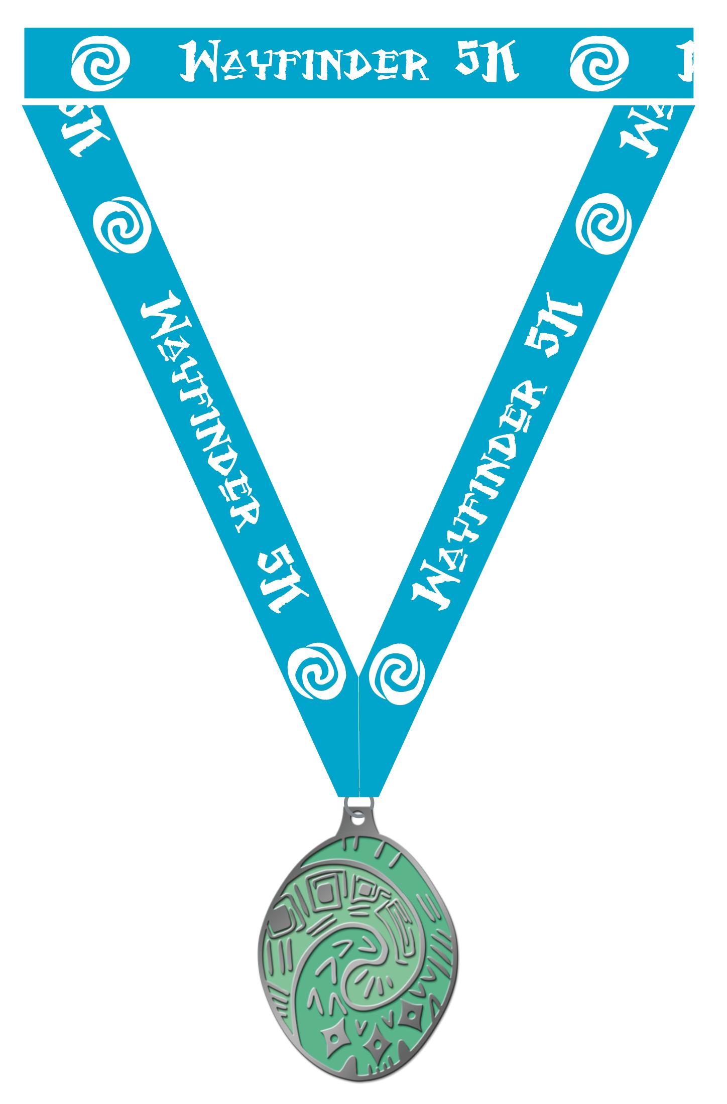 Wayfinder 5K Medal