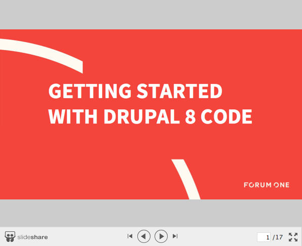 How to Get Started for Drupal 8 Coding