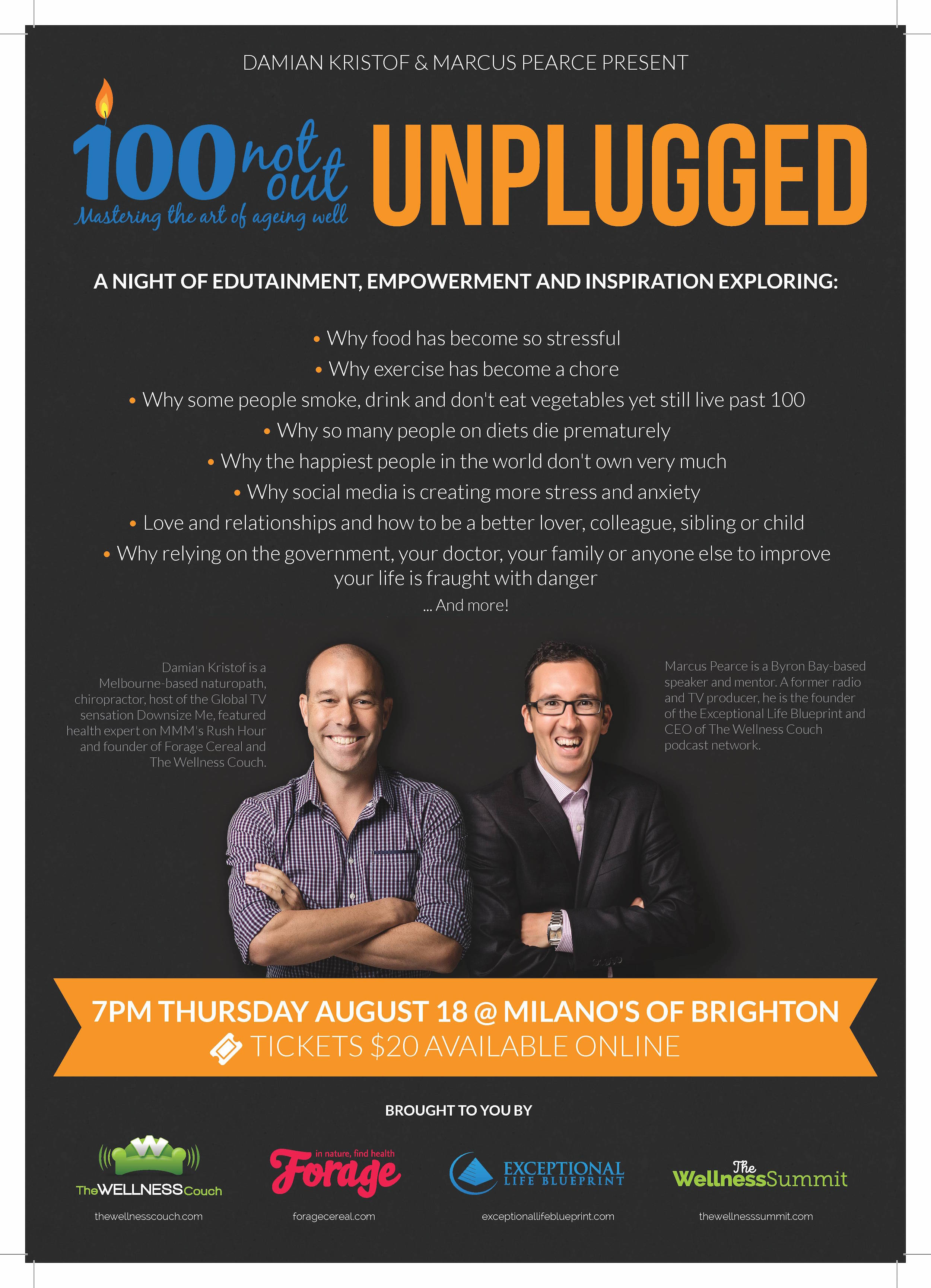 100 Not Out Unplugged Poster