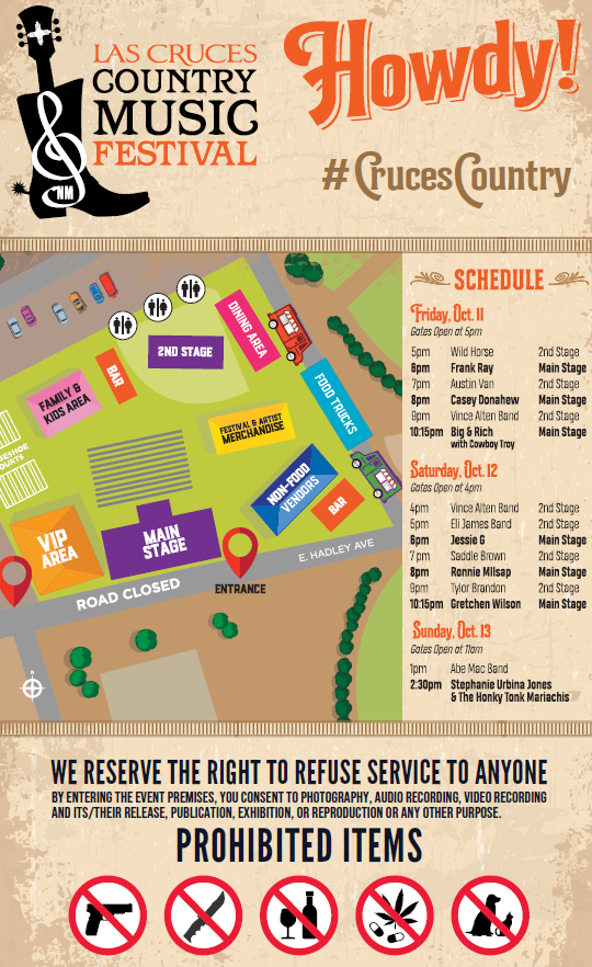 Map and Schedule