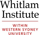 Whitlam Institute logo stacked