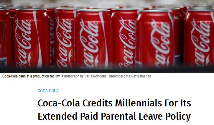Coke Millennials Drive Change