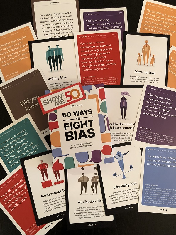 50 Ways to Fight Bias Lean In ShowMe50