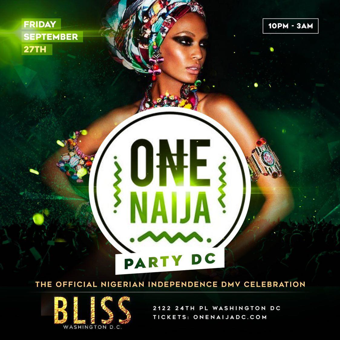 The Biggest Afrobeat Event in DC - The Nigerian Independence