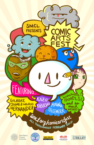 Comic Arts Fest 2017 Poster
