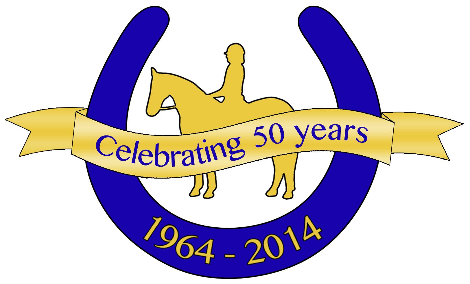 Chigwell Riding Trust 50th Anniversary Logo