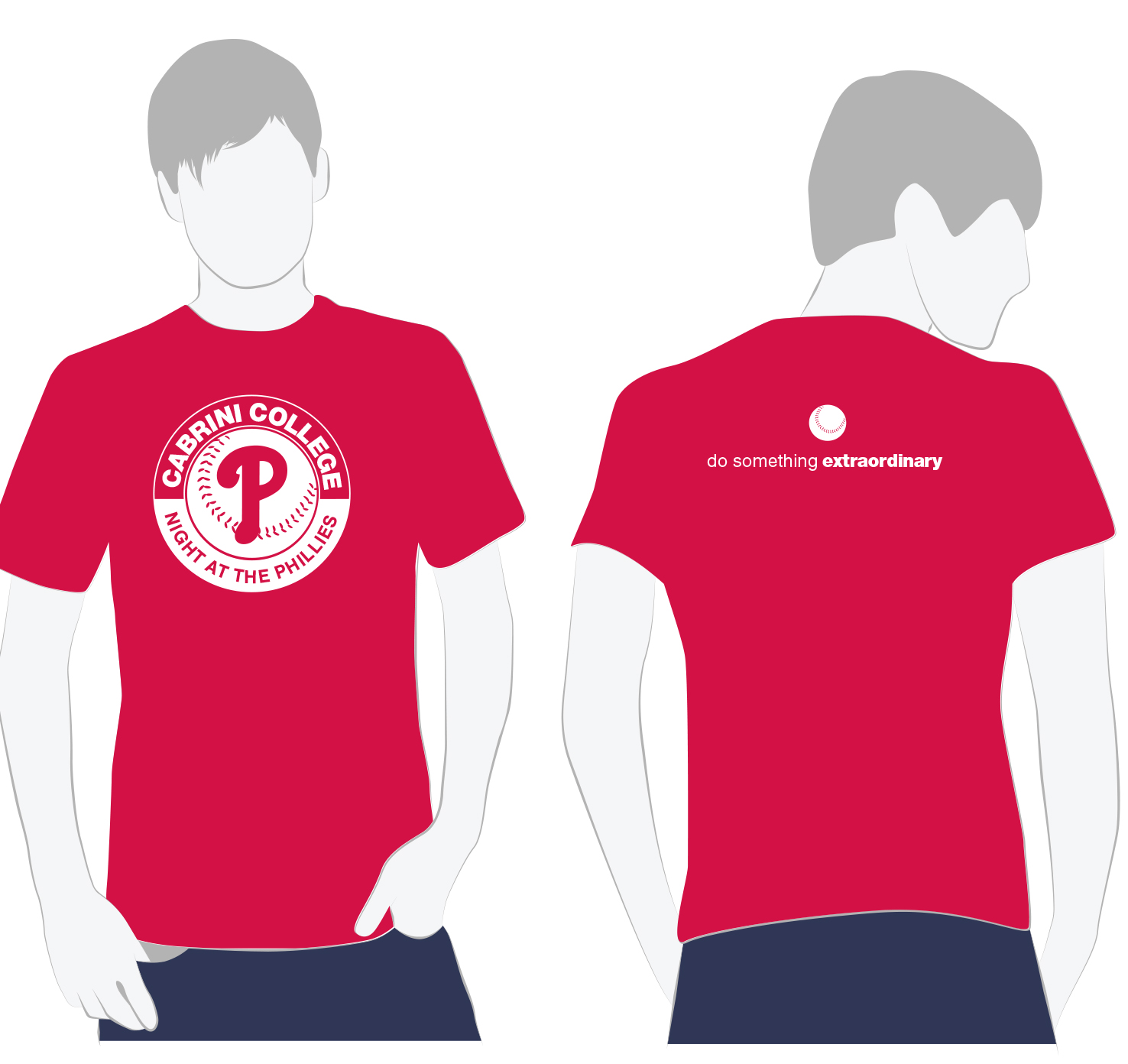 Cabrini Night at the Phillies T-shirt