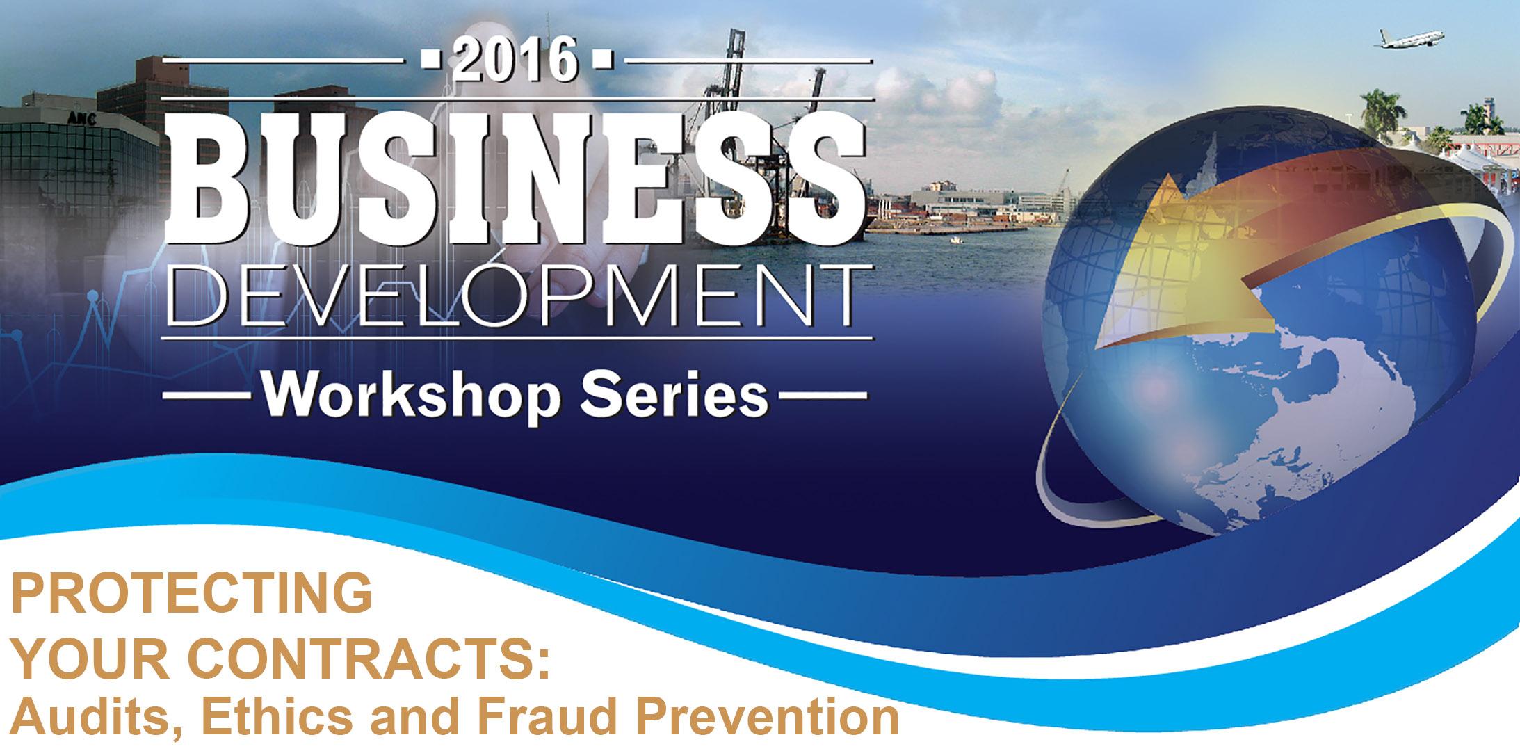 2016 Business Development Workshop Session 1