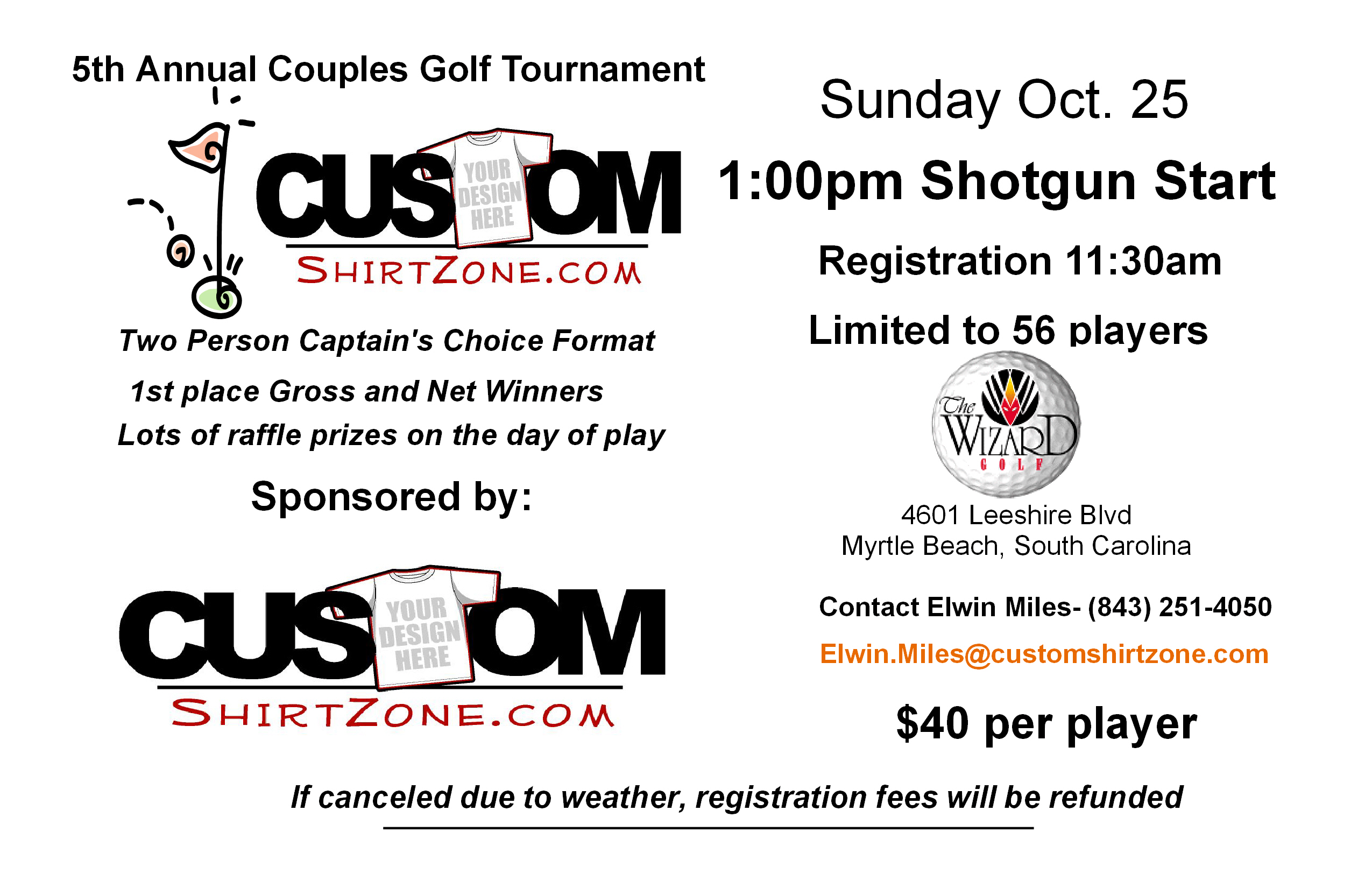 Myrtle Beach Couples Golf Tournament