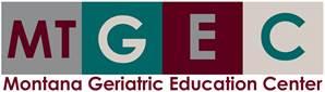 Montana Geriatric Education Center logo