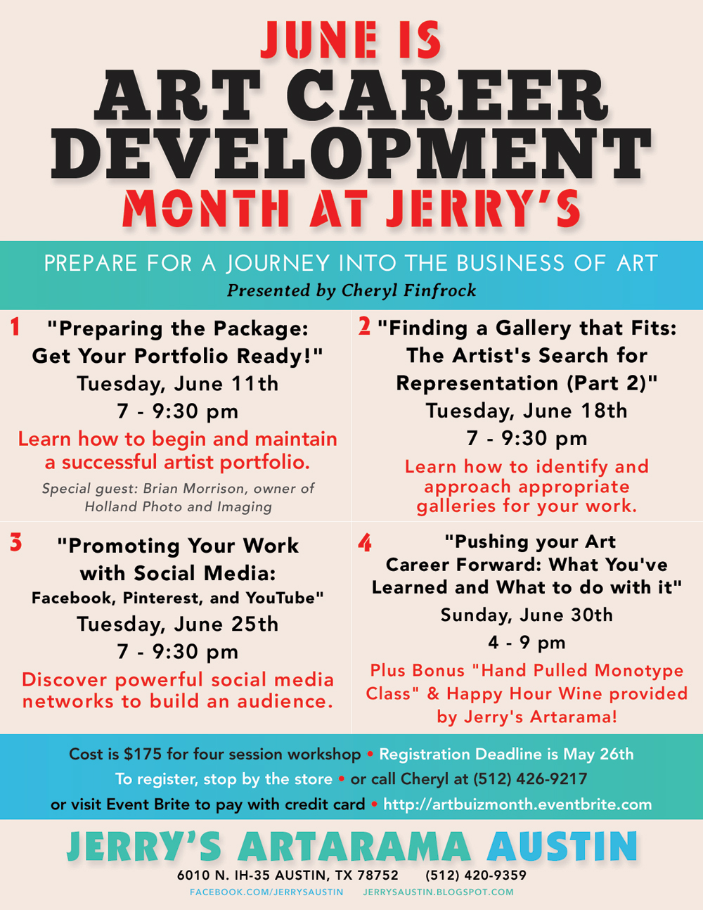 Art Career Development Workshop