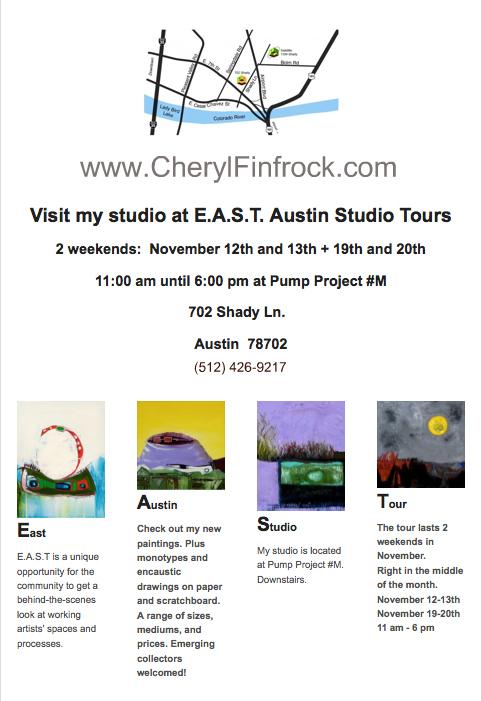 Cheryl Finfrock Studio at Pump Project #M