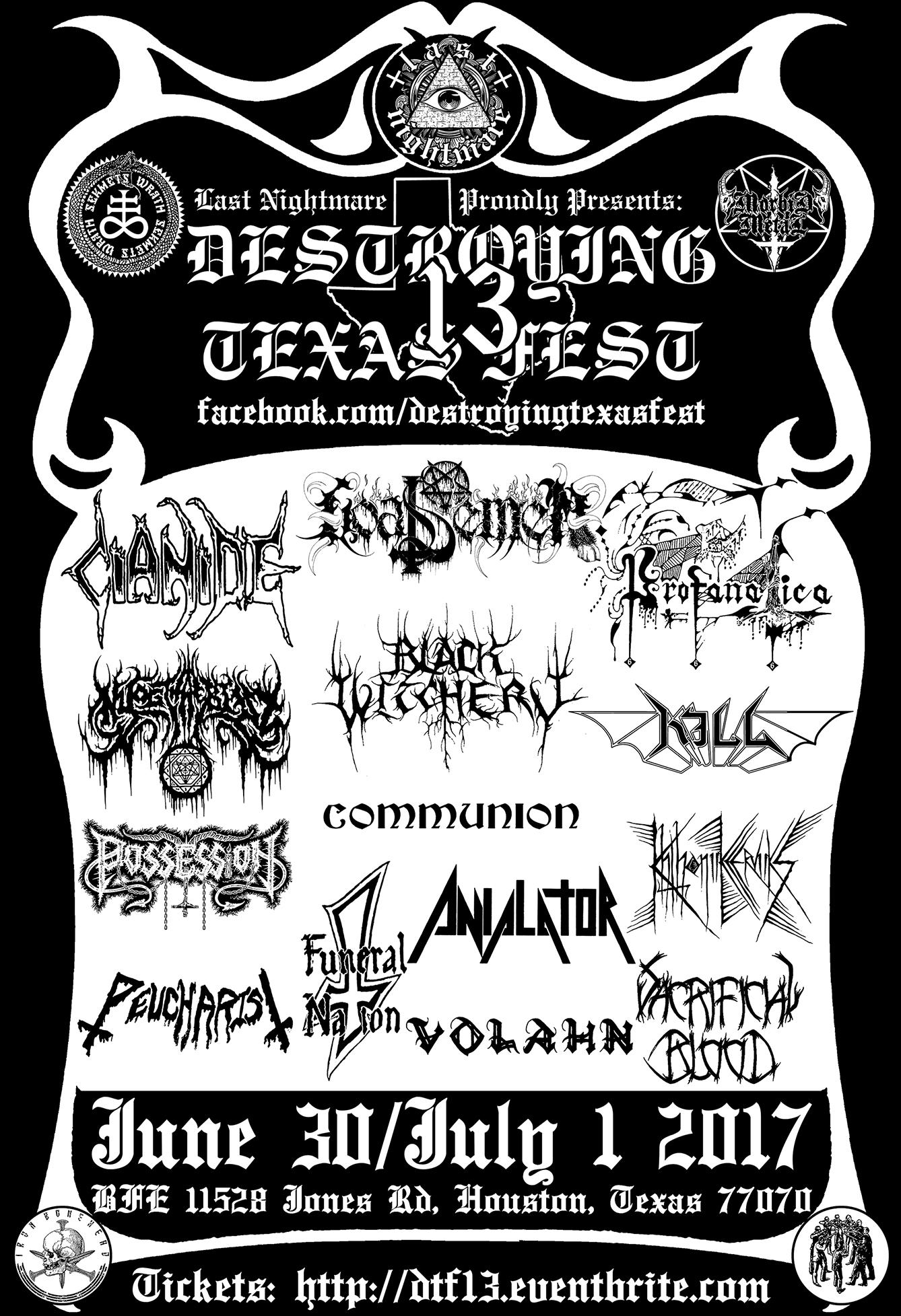 Destroying Texas Fest 13