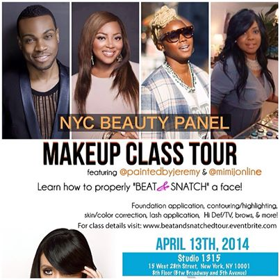 beat and snatched makeup class in nyc