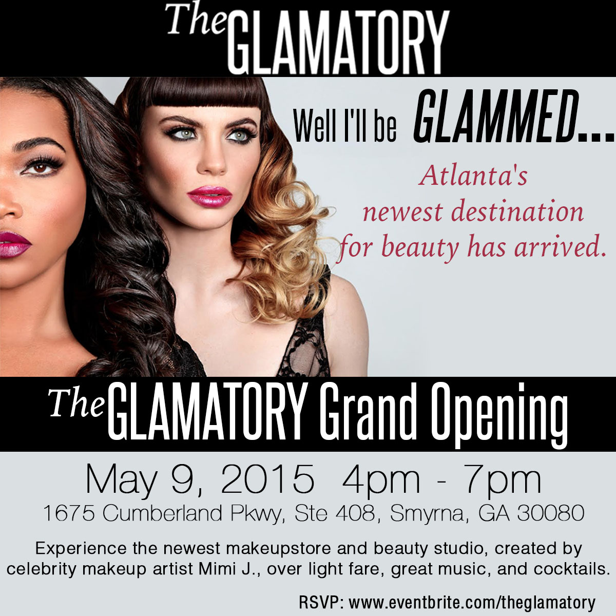 the glamatory grand opening event