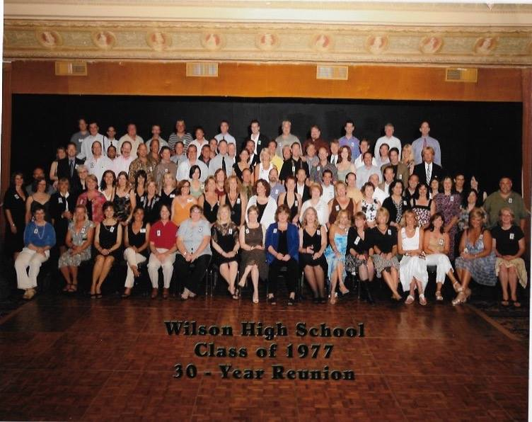 Group photo from 30-year reunion