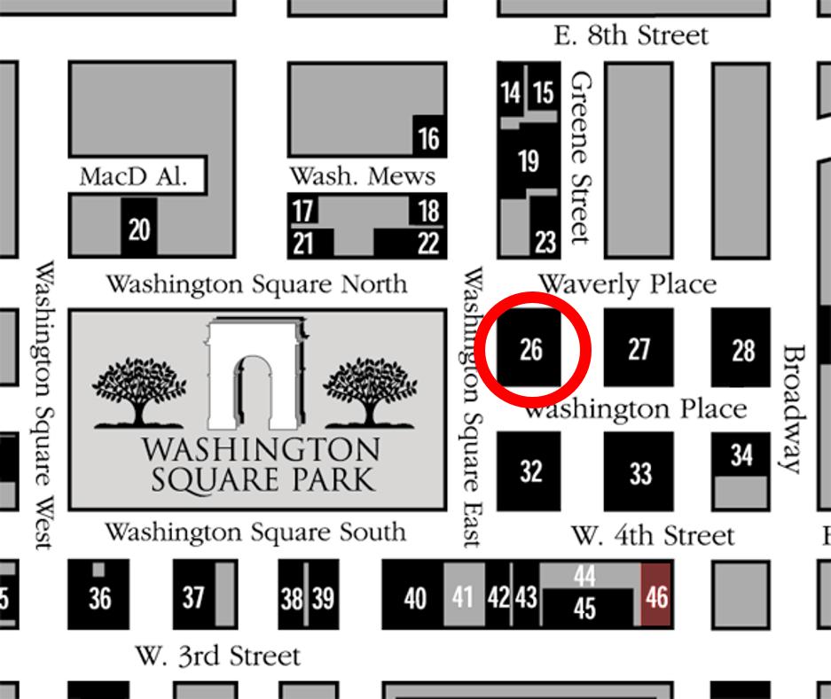 NYU Silver Building Location