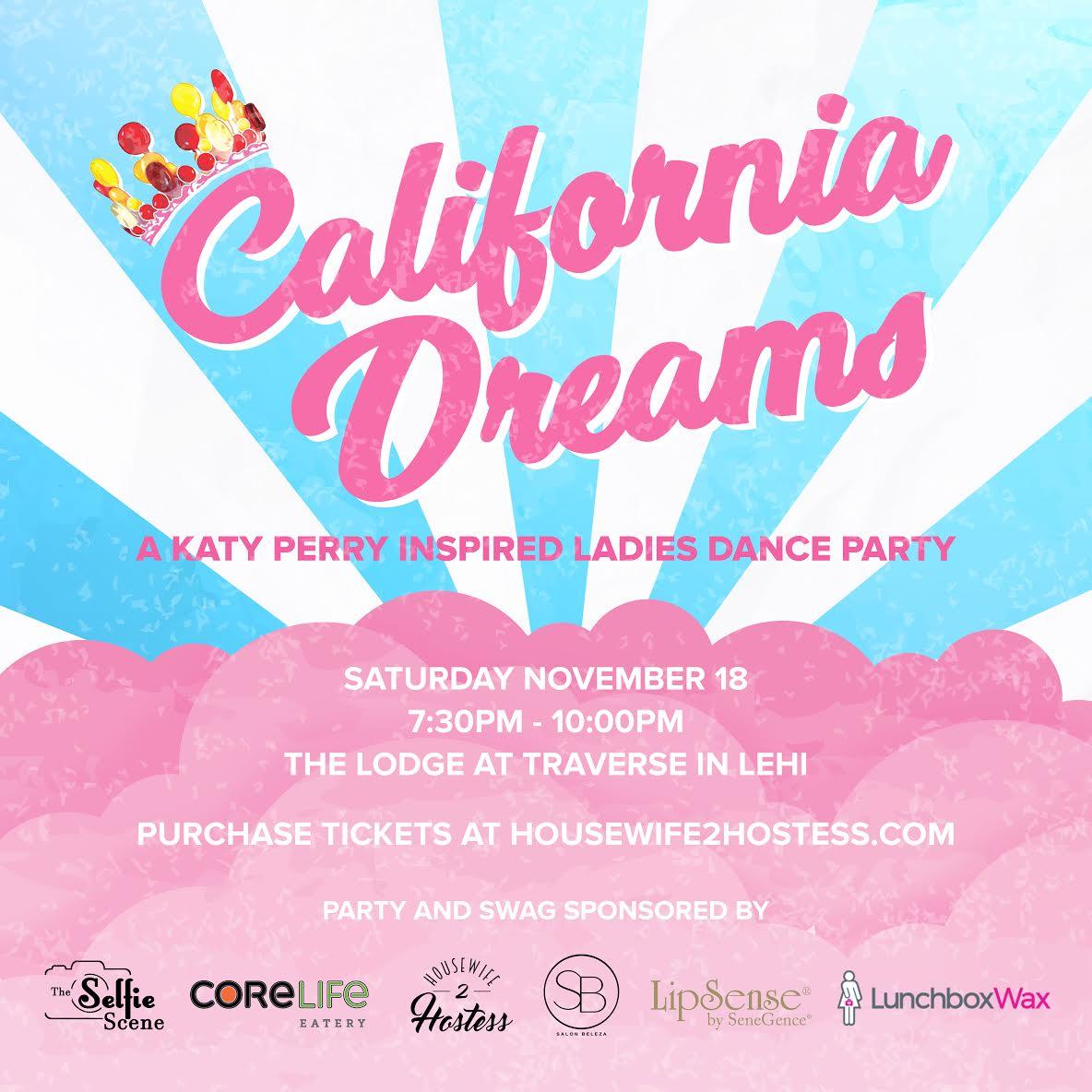 California Dreams Dance Party