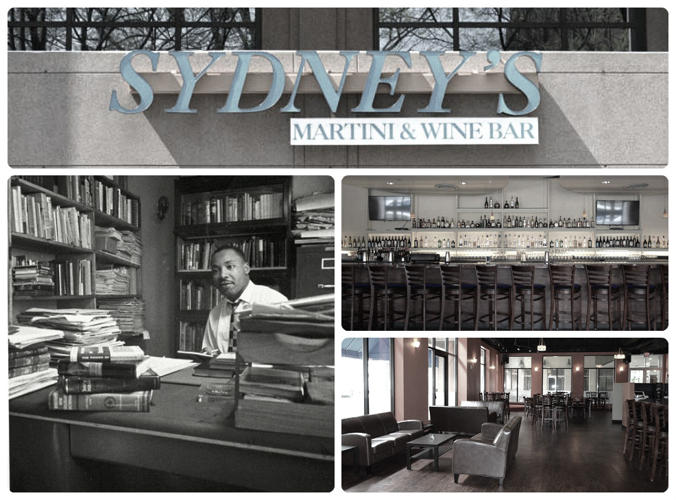Sydney's Martini and Wine Bar collage
