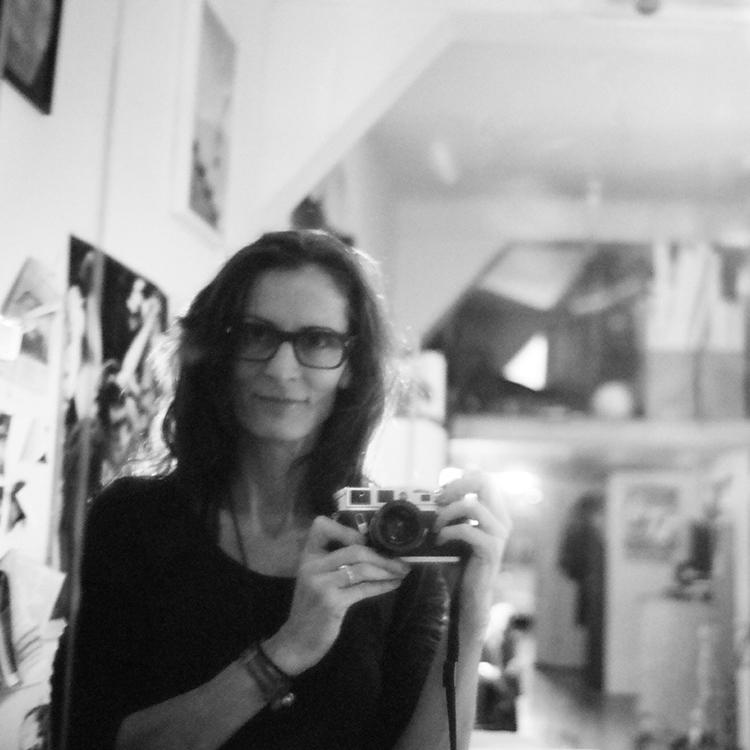 Self-portrait by Cheryl Dunn