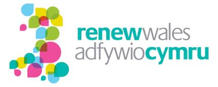 Renew Wales logo